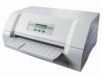 富士通dpk8600e平推式票据证件打印机